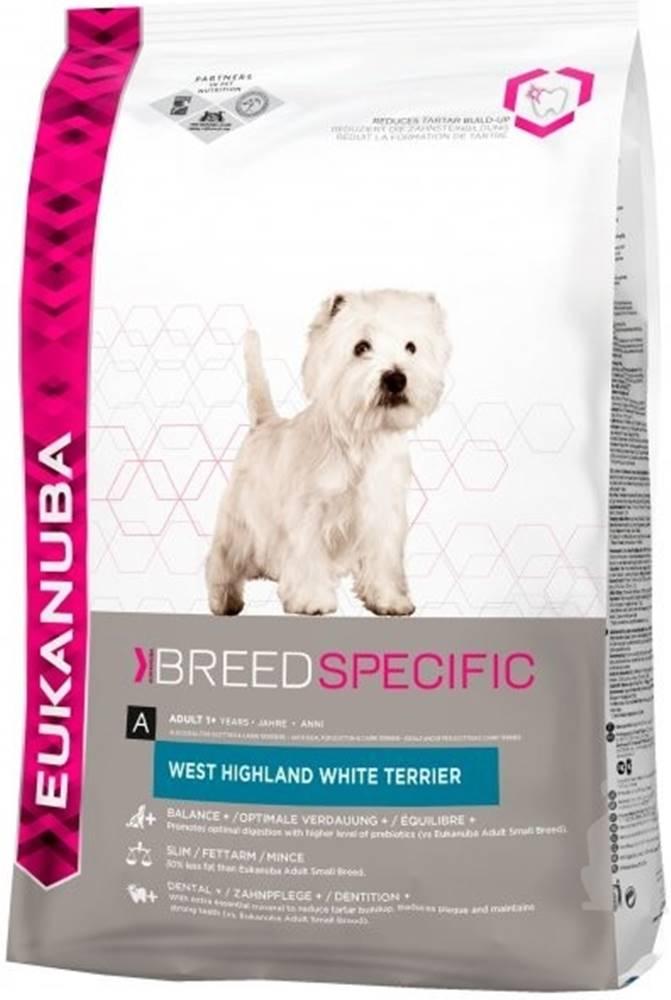 Eukanuba Eukanuba Dog Breed N. West High White Terrier 2,5kg