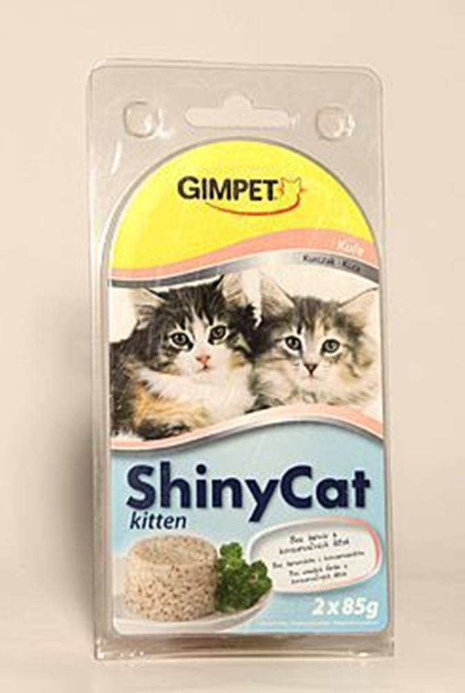 Gimborn Gimpet mačka konz. ShinyCat Junior kurča 2x85g
