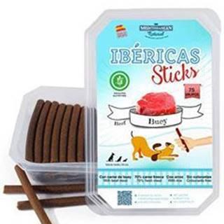 Ibéricas Sticks for Dog-Beef 900g 75ks