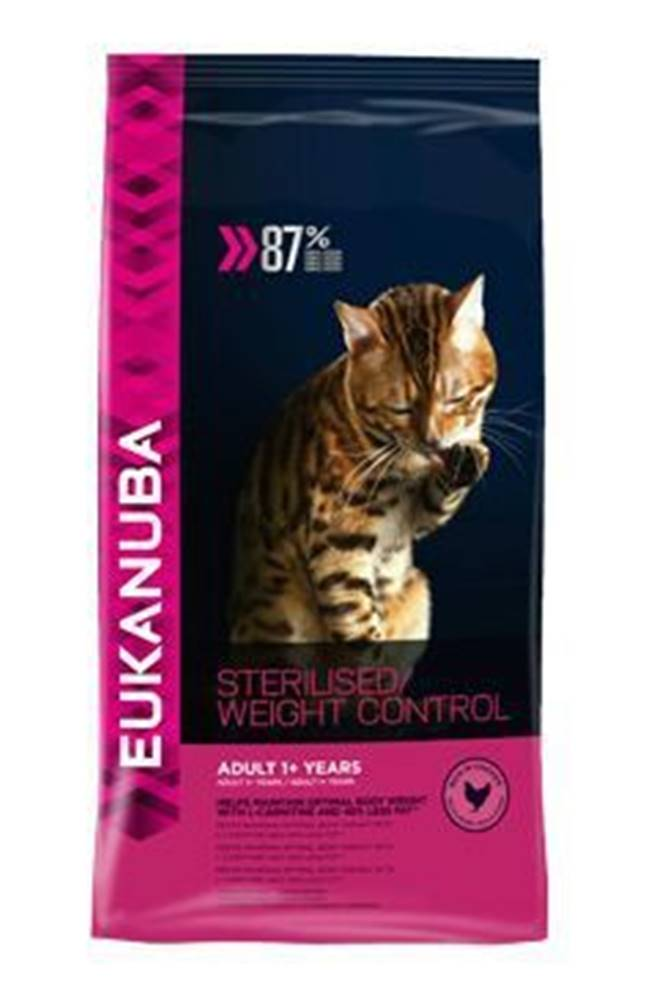 Eukanuba Eukanuba Cat Adult Sterilised /Weight Control kuře 3kg