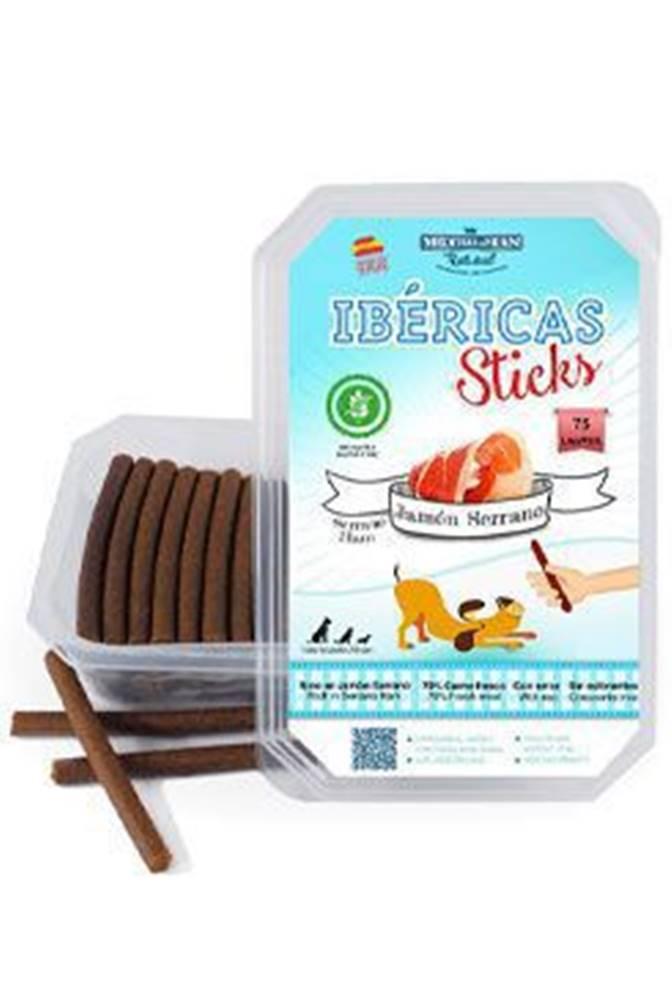 Ostatní Ibéricas Sticks for Dog-Serrano Ham 900g 75ks