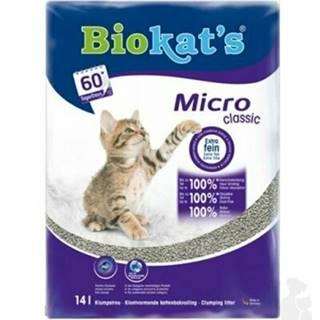 Podstielka Biokat 's MICRO CLASSIC 14l