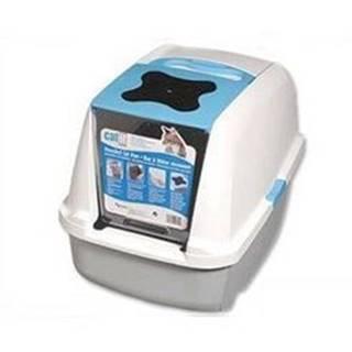 WC mačka kryté domček CATIT Design Modrá 56x38x48cm
