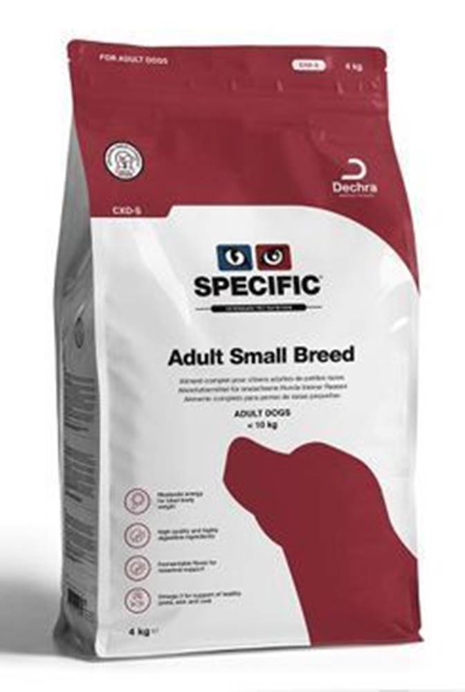 Specific Specific CXD-S Adult Small Breed 4kg pes