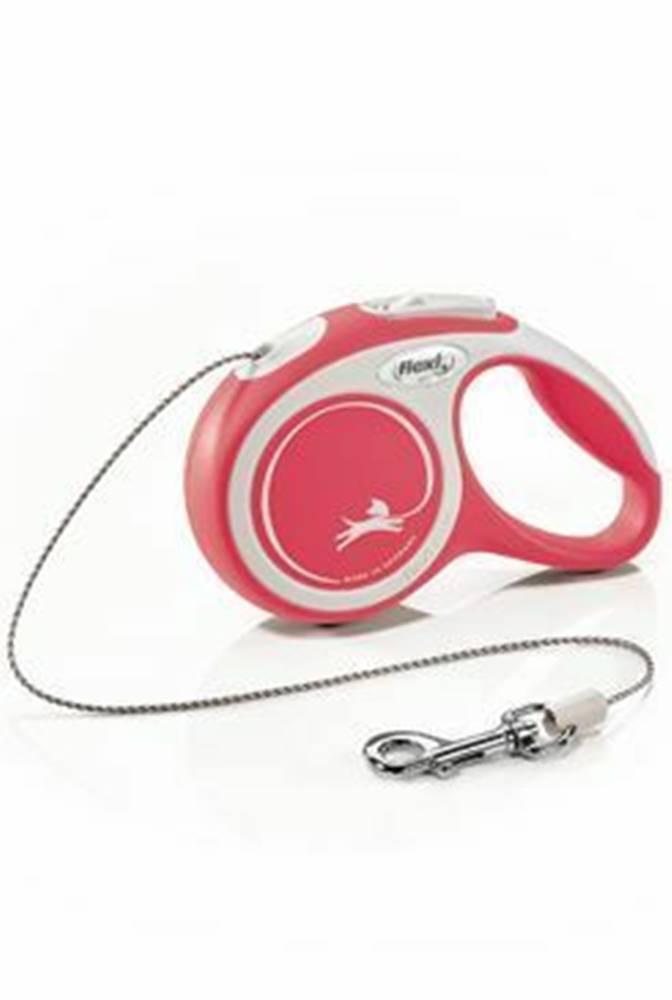 Flexi Vodítko FLEXI Comfort XS lanko 3m / 8kg červená NEW