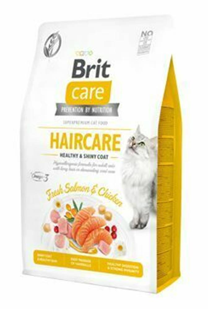 Brit Care Brit Care Cat GF Haircare Healthy&Shiny Coat 2kg