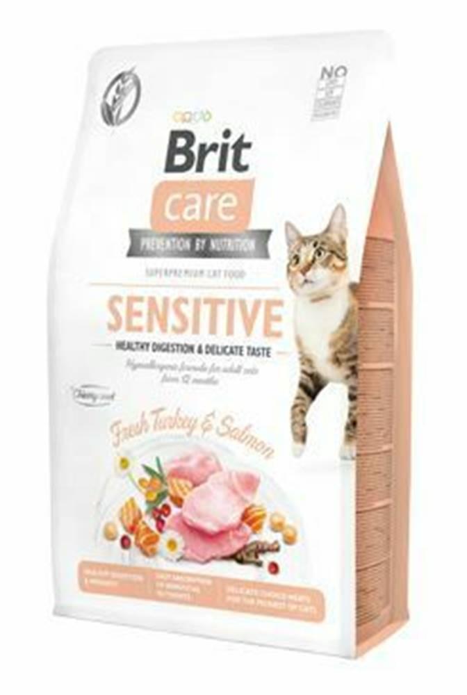 Brit Care Brit Care Cat GF Sensit. Heal.Digest&Delic.Taste2kg