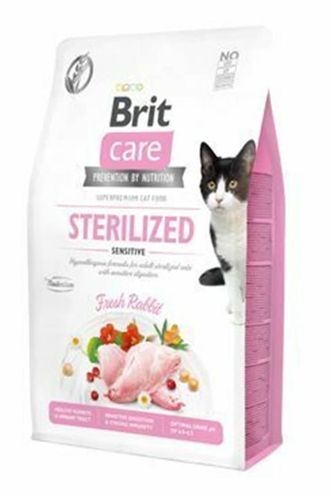 Brit Care Brit Care Cat GF Sterilized Sensitive 2kg