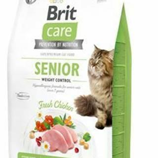 Brit Care Cat GF Senior Weight Control 2kg