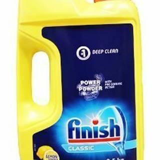 Prášok do umývačky FINISH Powder lemon 2,5kg