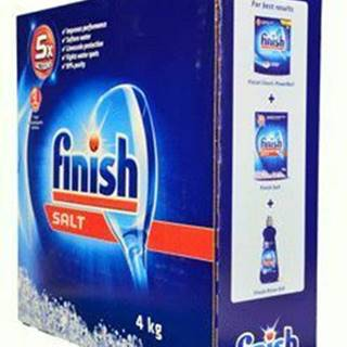 Soľ do umývačky FINISH 4kg