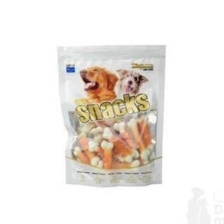 Magnum white dog bone tw. by chicken 250g
