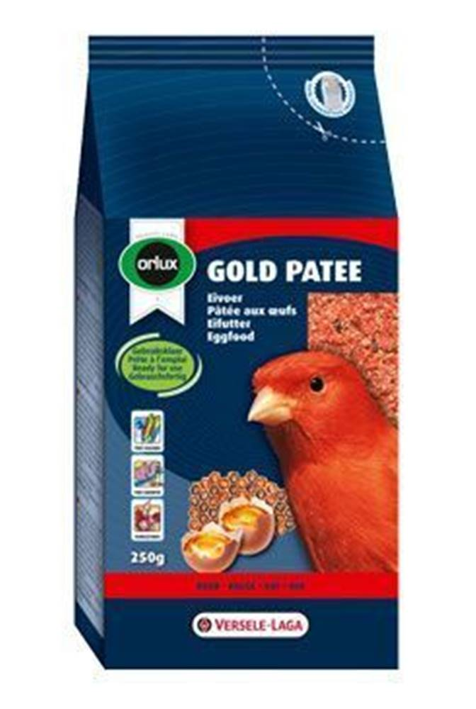 VERSELE-LAGA VL Orlux Gold piate vlhčené pre červené vtáky 250g