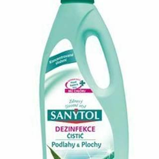 SANYTOL domácnosť dezinfekčný 1l eukalyptus