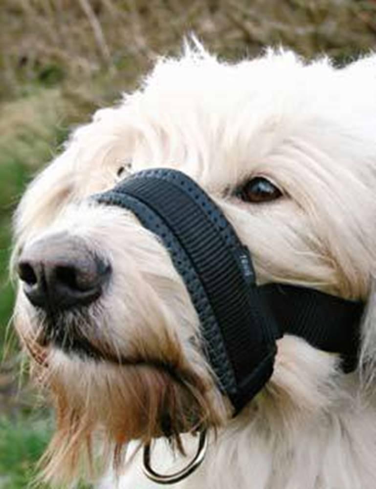 Trixie Náhubok fixačné nylon podložený pes L 18-30cm TR