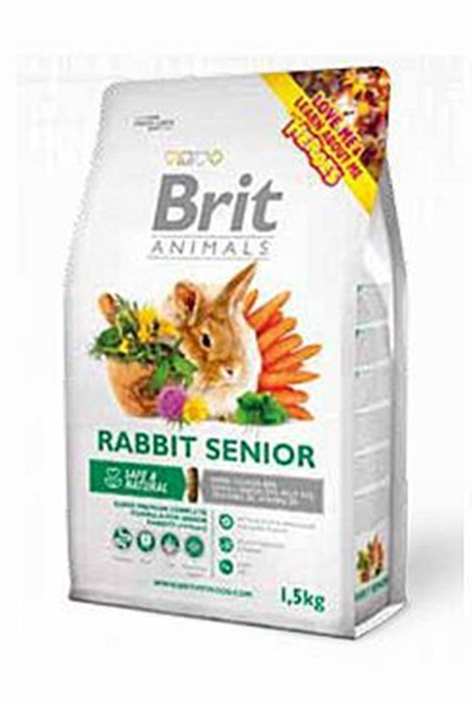 Brit Brit Animals Rabbit Senior Complete 1,5kg