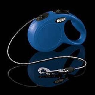 Vodítko FLEXI Classic NEW XS lanko 3m/8kg modrá