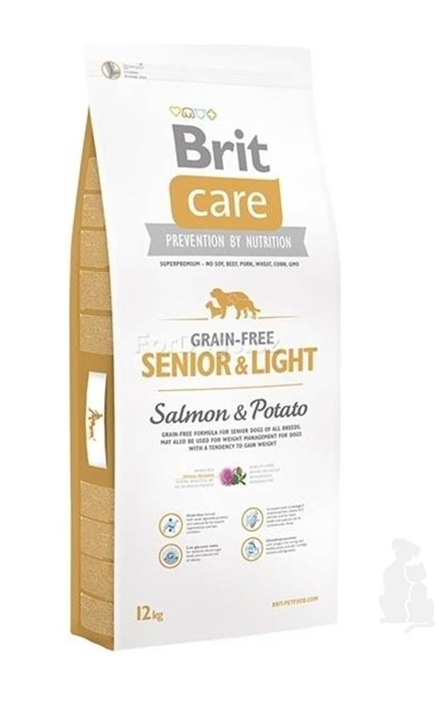 Brit Brit Care Dog Grain-free Senior Salmon & Potato 3kg