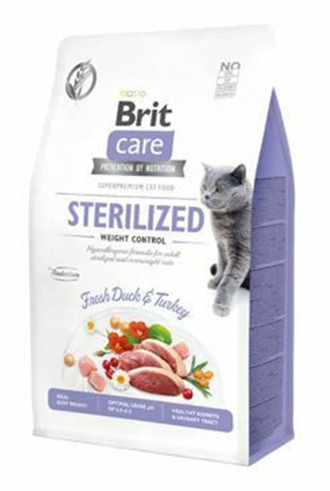 Brit Care Brit Care Cat GF Sterilized Weight Control, 0,4kg