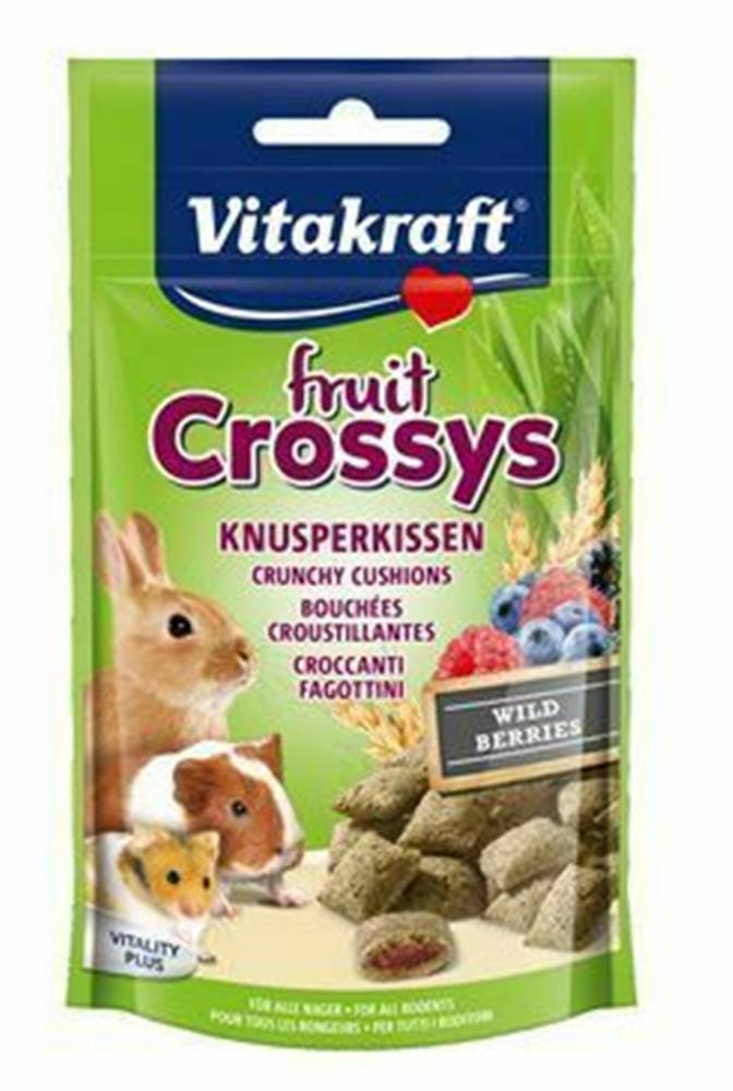 Vitakraft Vitakraft all Rodent poch. Crossys Wildberr 50g
