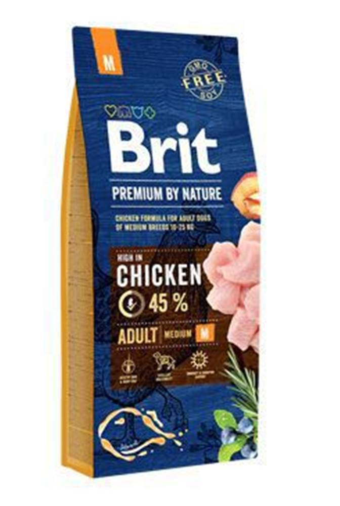 Brit Brit Premium Dog by Nature Adult M 15kg