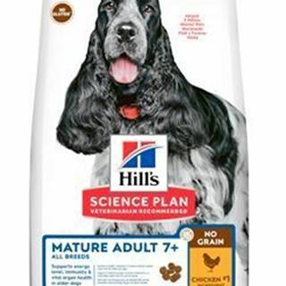 Hill's Can.Dry SP Mature Adult NG Chicken 2,5kg