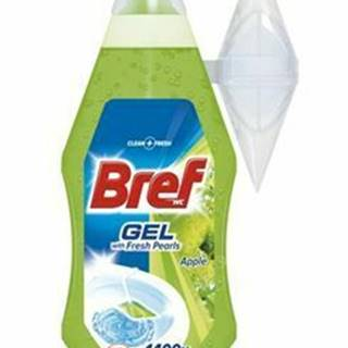 Wc čistič Bref gel Apple zelený n.n. 360ml