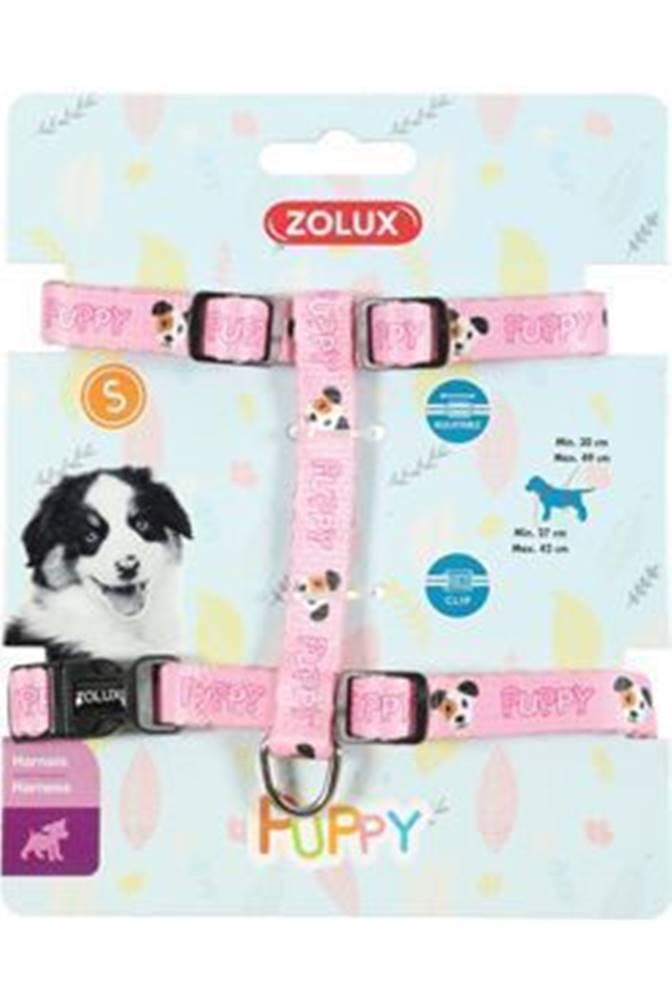 Zolux Postroj pes šteňa MASCOTTE nastaviteľný ružový 13mm Zo
