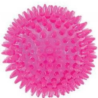 Hračka pes BALL TPR POP 8cm s ostny růžová Zolux