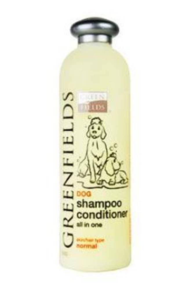 Greenfields Greenfields šampon s kondicionérem pes 400ml