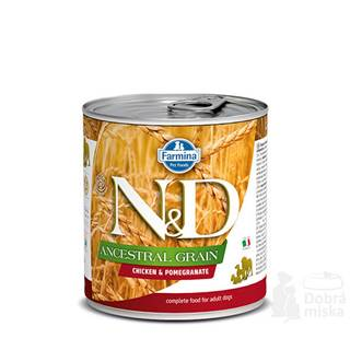 N&D DOG LOW GRAIN Adult Chicken & Pomegranate 285g