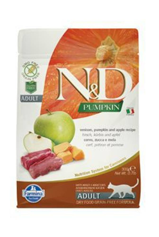 N&D N&D GF Pumpkin CAT Venison & Apple 300g
