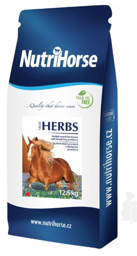 Nutri Horse Nutri Horse Müsli HERBS pro koně 12,5kg NEW