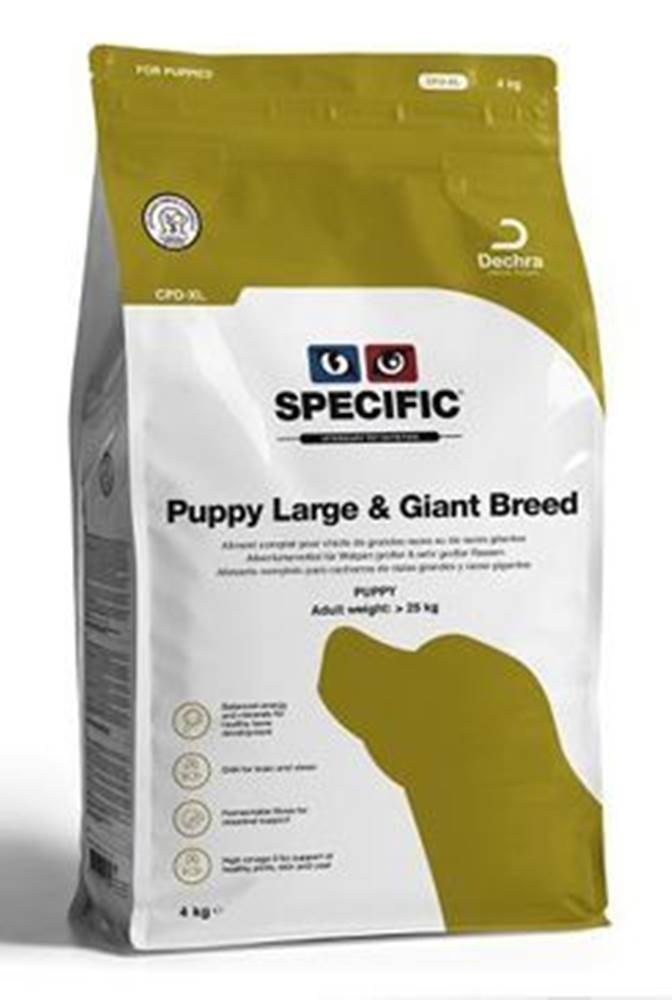 Specific Specific CPD-XL Puppy Large & Giant Breed 12kg pes