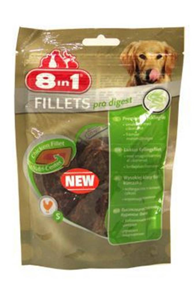 8 in 1 Pet Products GmbH Pochoutka 8in1 Fillets pro digest S 80g