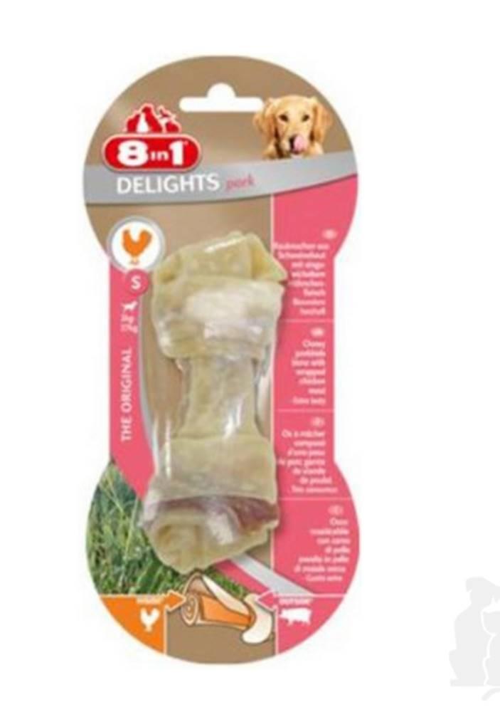8 in 1 Pet Products GmbH 8in1 Kost žvýkací Delights vepřová S 1ks