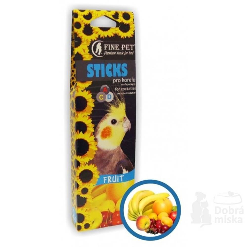 FINE PET FINE PET Tyčinka Korela ovoce 2ks/110g