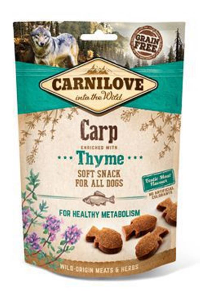 Carnilove Carnilove Dog Semi Moist Snack Carp&Thyme 200g