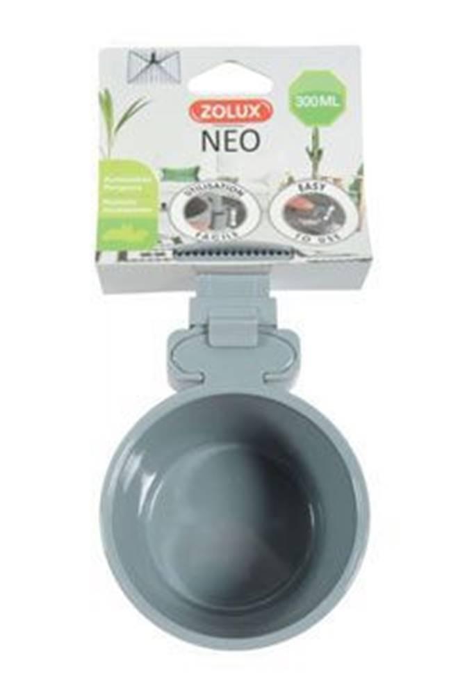 Zolux Miska plastová hlodavec NEO 300ml šedá Zolux
