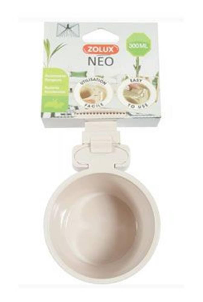 Zolux Miska plastová hlodavec NEO 500ml béžová Zolux