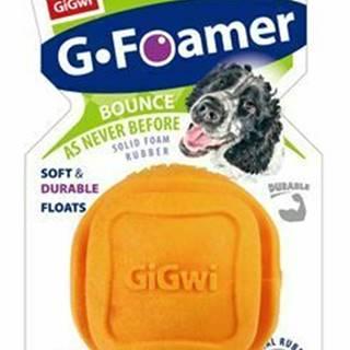 Hračka pes GiGwi Foamer Ball loptička z tvrdenej peny oran