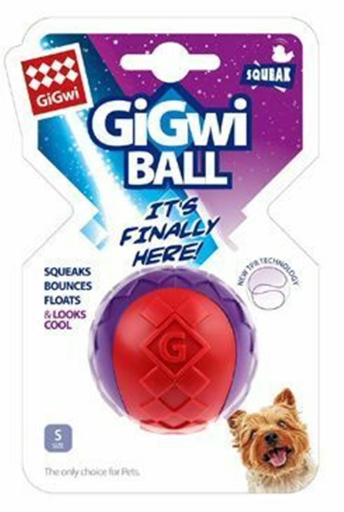 GiGwi Hračka pes GiGwi Ball loptička S červeno / purpurový