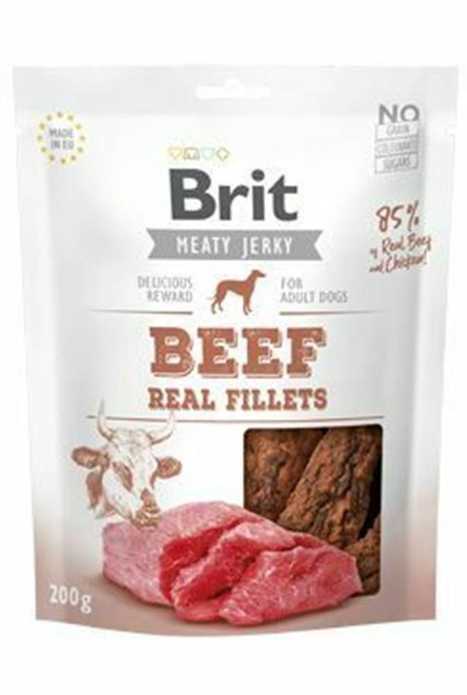 Brit Brit Jerky Beef Fillets 200g