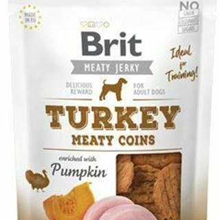 Brit Jerky Turkey Meaty Coins 200g
