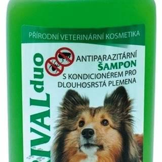 Antipar. šampón RIVAL DUO pre psov/dlhá srsť - 220ml
