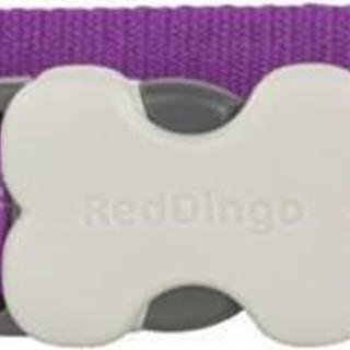 Obojek RD BUTTERFLY purple - 1,2/20-32cm