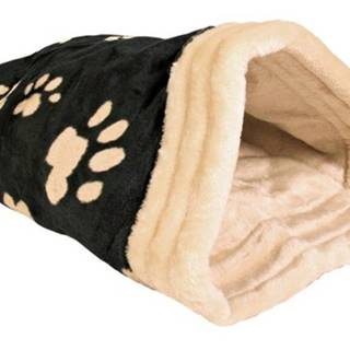 Pelech JASIRA čierno-béžový  - 25x27x45cm