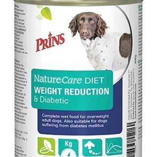 PRINS NatureCare Veterinary Diet WEIGHT REDUCTION & Diabetic - 400g