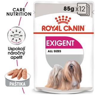 Royal Canin Exigent Dog Loaf - kapsička s paštétou pre maškrtné malých psov - 85g