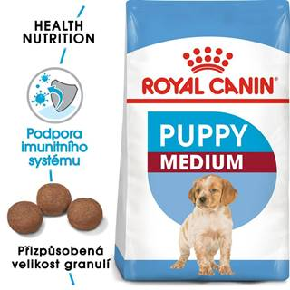 Royal Canin MEDIUM PUPPY - 4kg